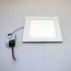 mini LED panel čtverec 12W
