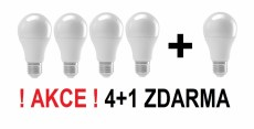 Set 5ks LED žárovek Gigaled E27 9W