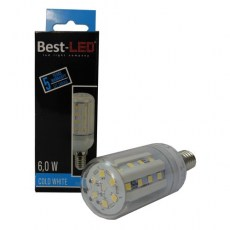BEST LED žárovka E14,240V, 6W, 580lm, CW