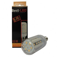 BEST LED žárovka E14,240V, 6W, 540lm, WW